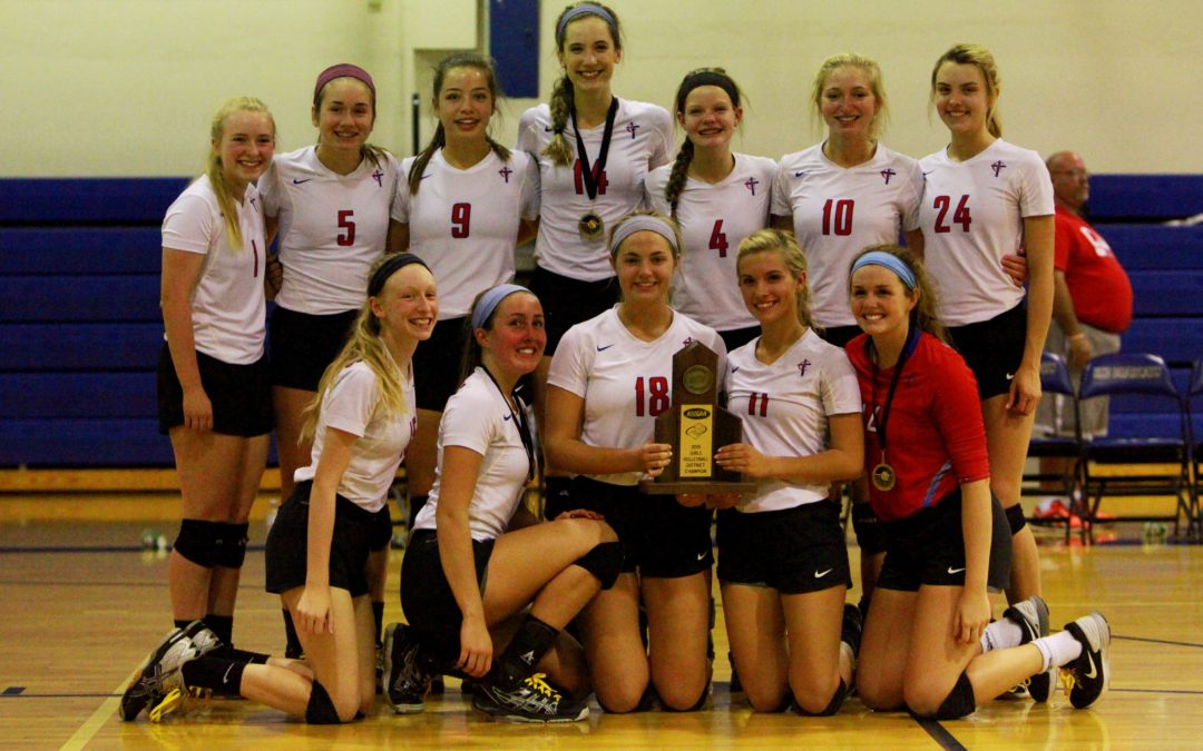 A Clean Sweep of the Districts for CAL Volleyball