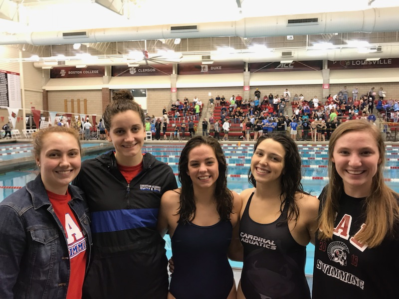 Gabi Albiero Wins 2 State Titles and Breaks State Record!