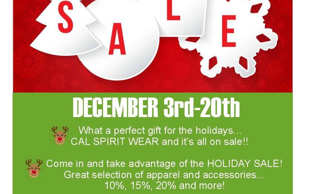 Centurion Armory Holiday Sale, December 3-20