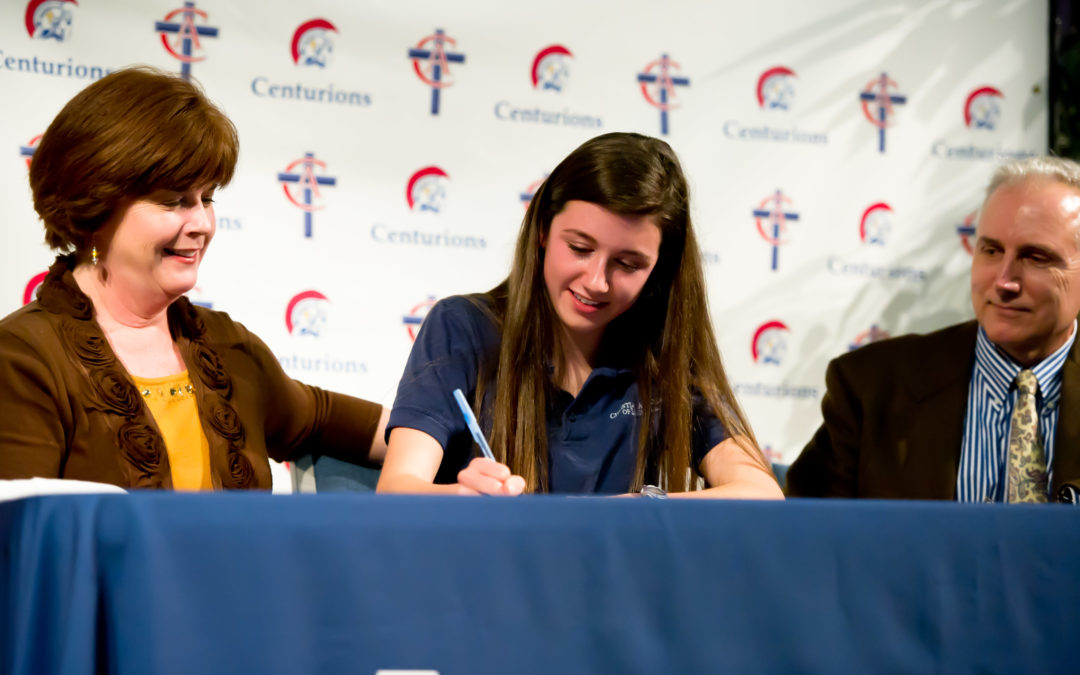 CAL's Jenna Gipperich Signs with Mercer University