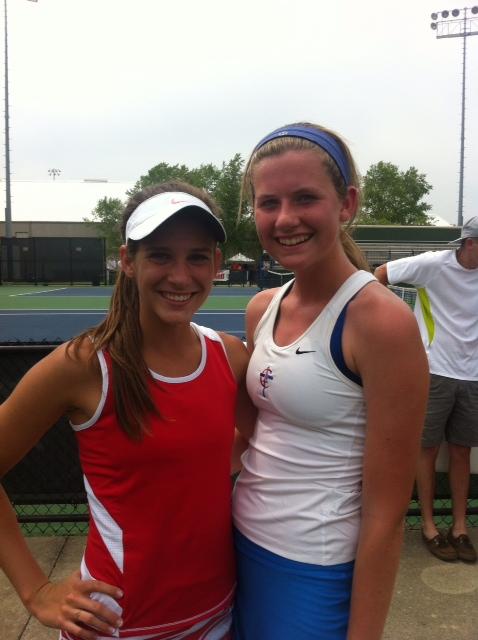 CAL Girls Tennis Rocks at State
