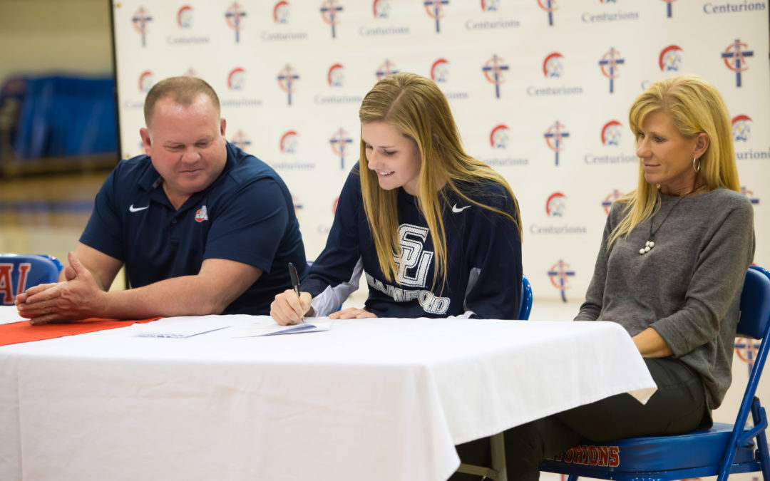 Four Centurions Sign to Play at College Level