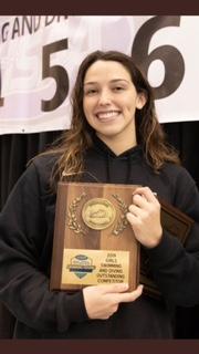Gabi Albiero Wins 7th State Swimming Title