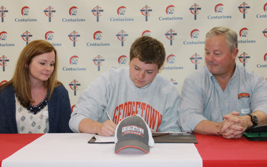 Peyton Griffee Signs with Georgetown College