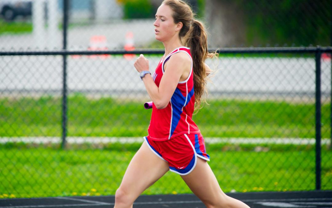 Hannah Herd Breaks Another School Record