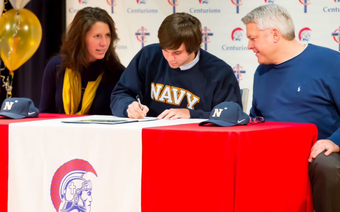 Chad Lewellyn Signs with Navy