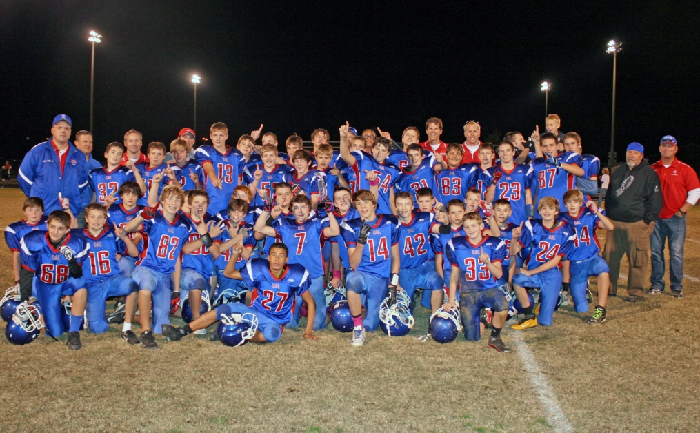 CAL Wins Middle School Football District Championship