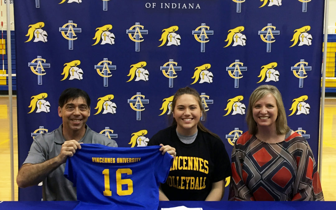 Mackenzie Haworth Signs to Play Volleyball at Vincennes University