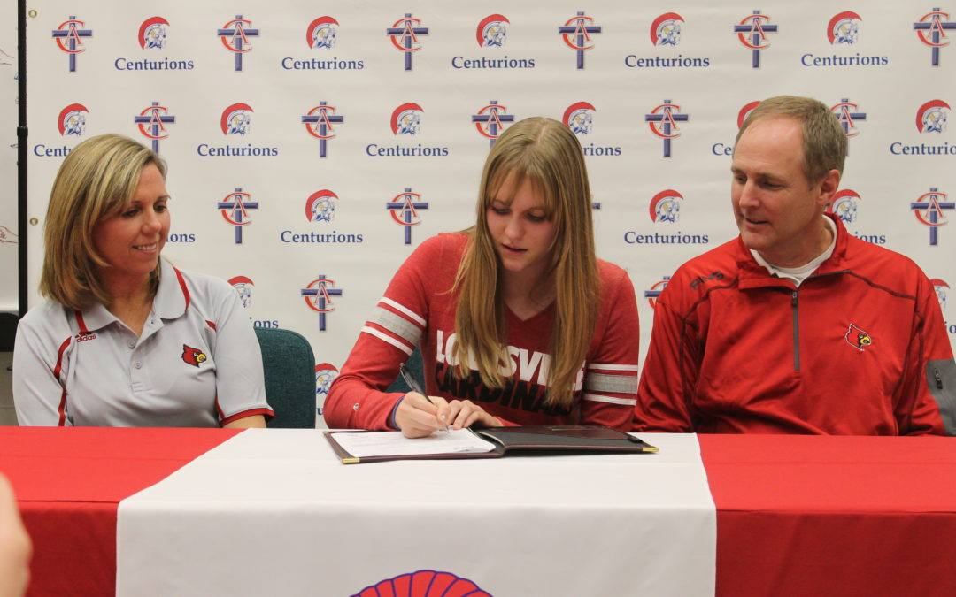 Hannah Magnuson Signs to Swim at the University of Louisville