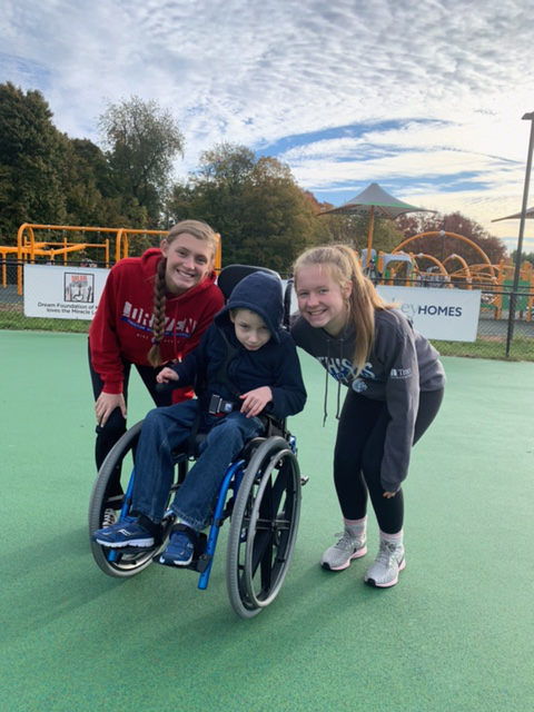 CAL Softball Serves with Miracle League