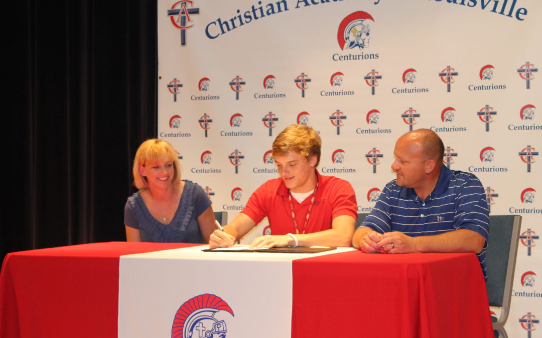 Mason Paas Signs to Play Lacrosse at Centre College