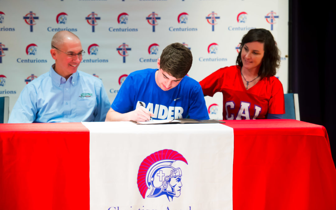 Zac Passafiume Signs to Play Football at Lindsey Wilson College
