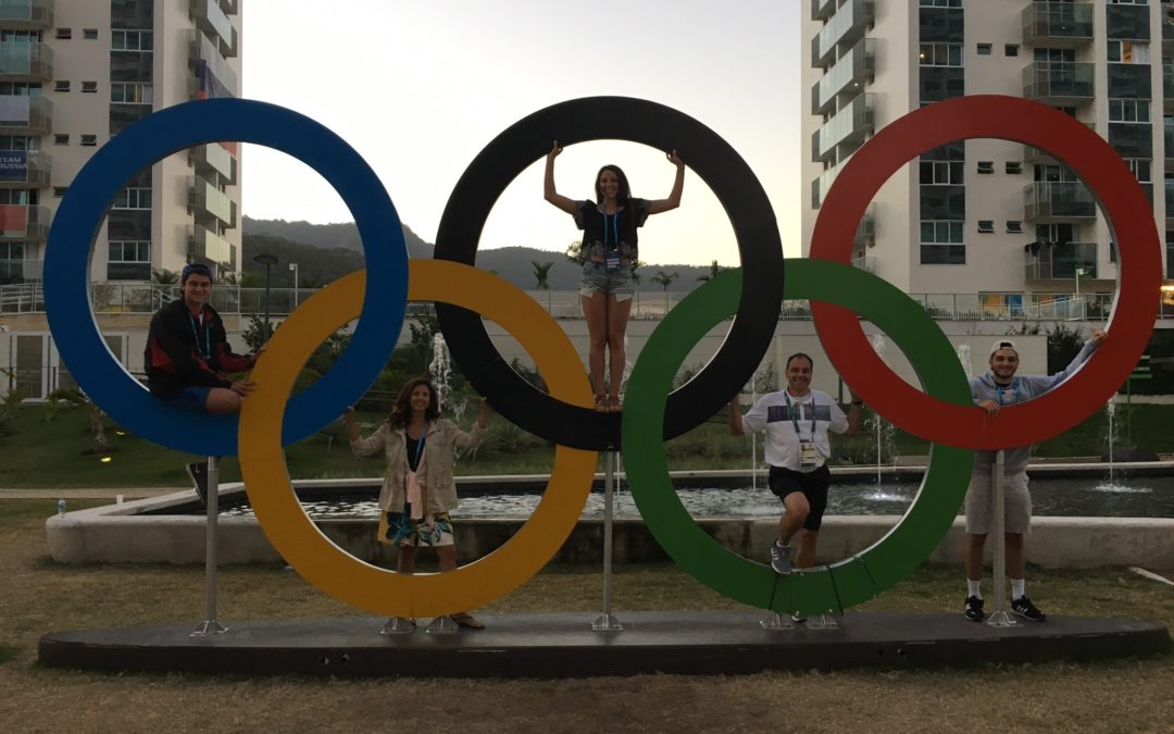 Olympic Sized Memories for the Albiero's