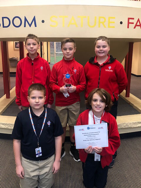 Christian Academy School System | Christian Academy of Louisville | Southwest Campus | Lego Brick Force 1 Team
