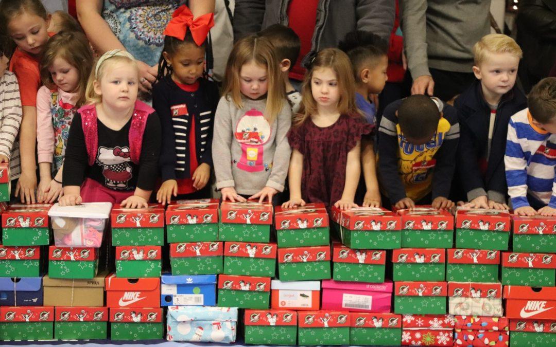Southwest Students Donate 511 Shoebox Gifts to Operation Christmas Child!