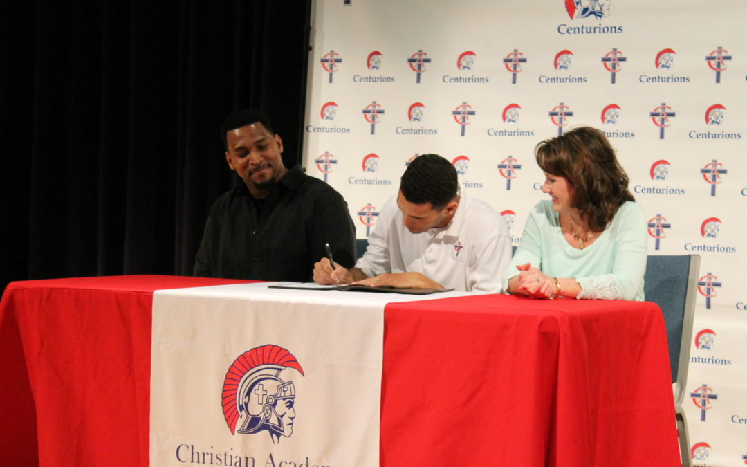 DJ Scott Signs to Play Basketball at Life University