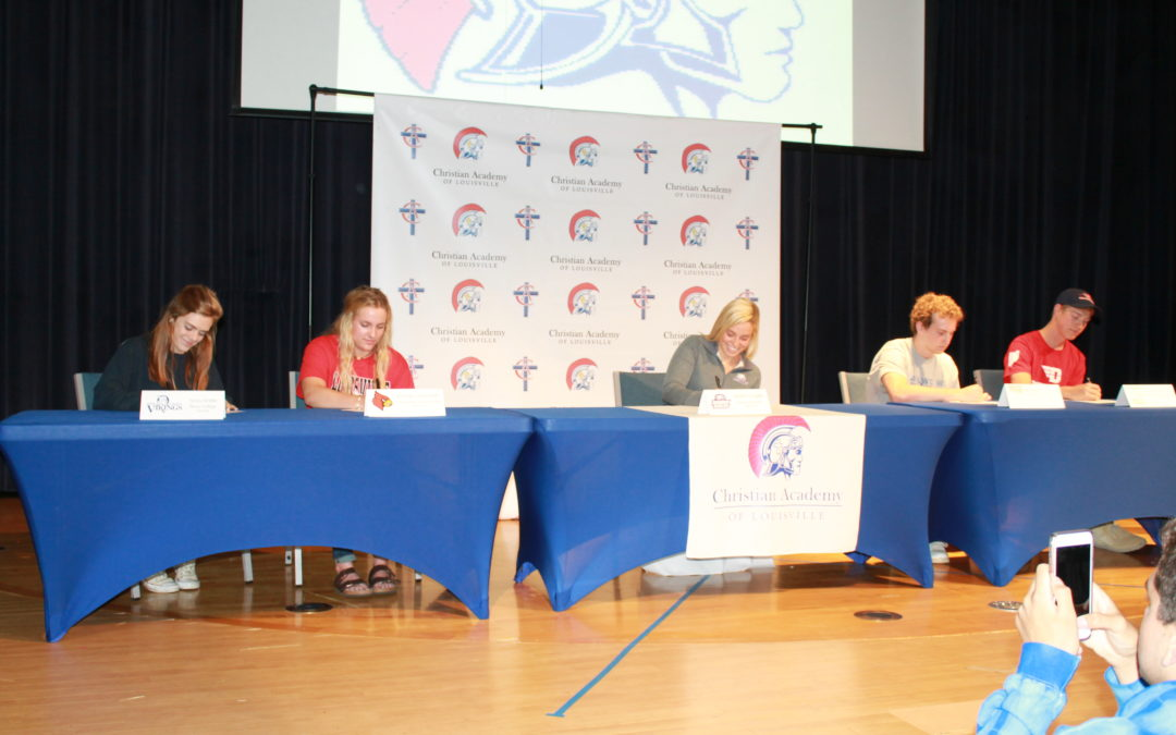 5 CAL  Athletes Sign to Play at College Level