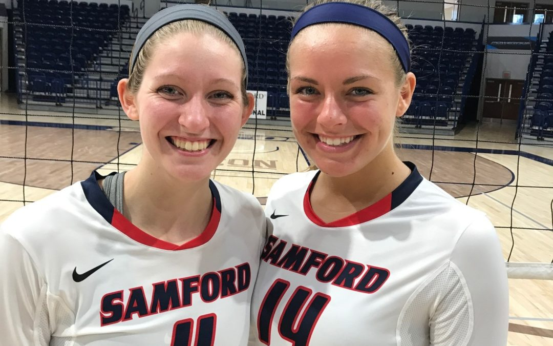 Two of CAI's Volleyball Alumni are Back on the Court as Teammates Again!