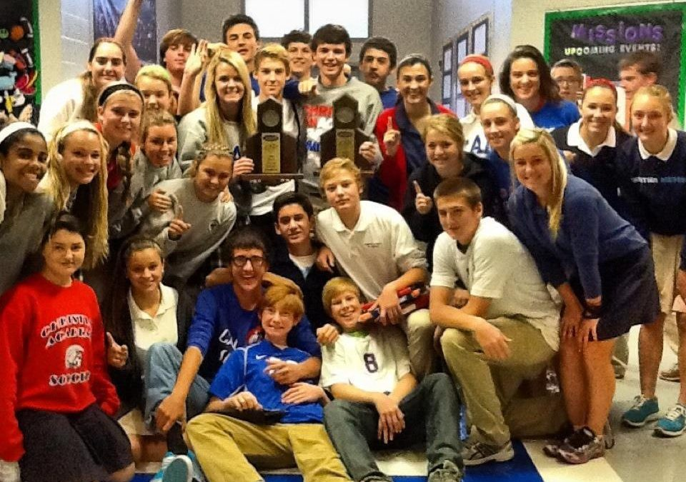 CAL Boys & Girls Soccer Teams 28th District Champs!