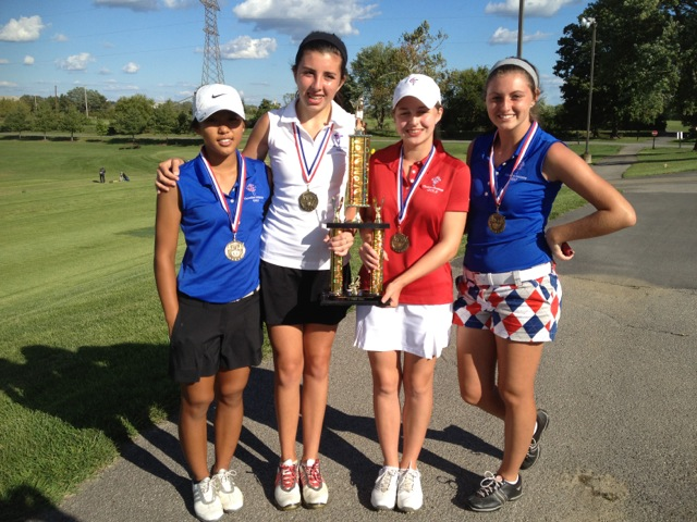 CAL Girls Golf Wins CAI Invitational