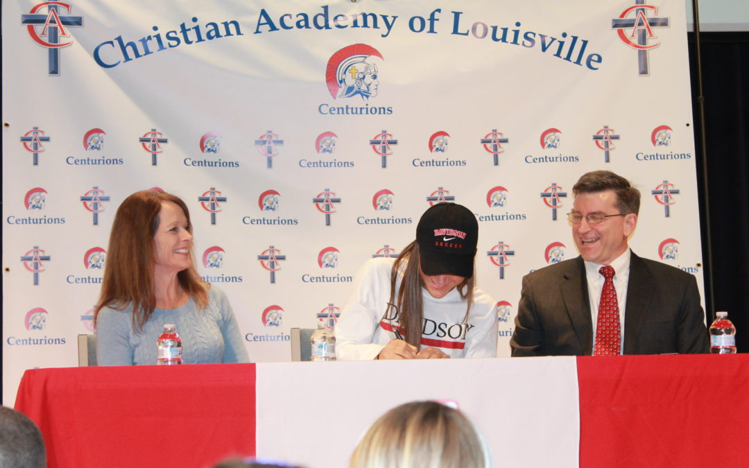 Kate Joss Signs to Play Soccer at Davidson College