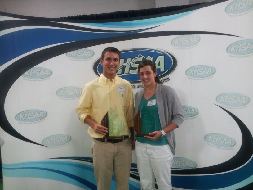CAL Athletes Receive KHSAA Sportsmanship Award