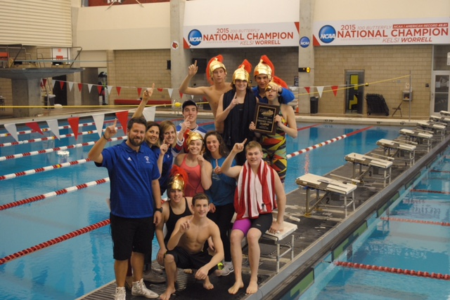CAL Swimming & Diving Region 5 Champs!