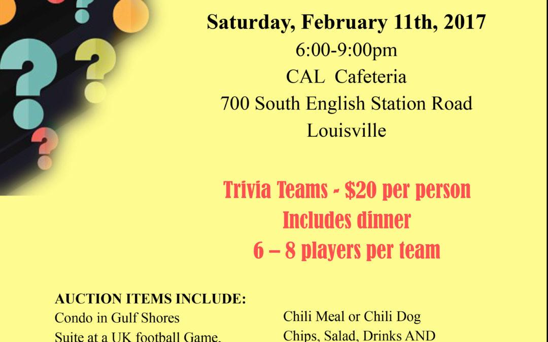 CAL Softball Hosts Trivia Night & Silent Auction